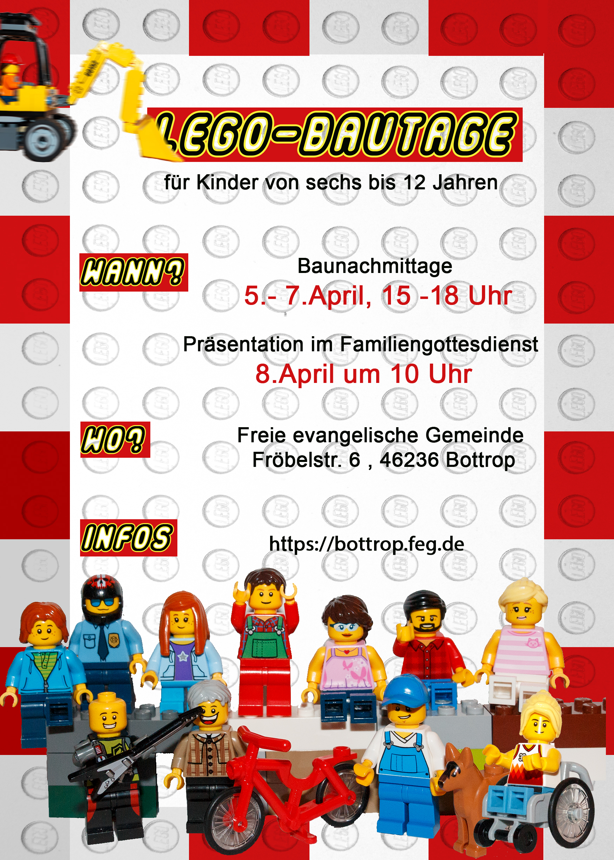 Anmeldung Legotage