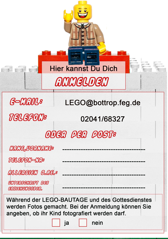 Anmeldung Legotage Rückseite